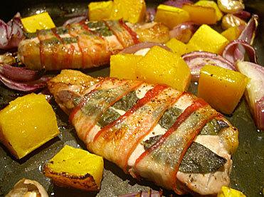 Porksagepancetta